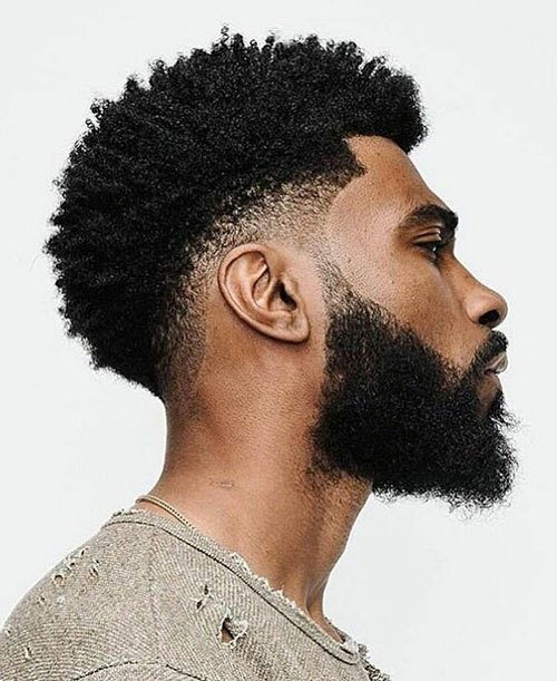 afro fade 1