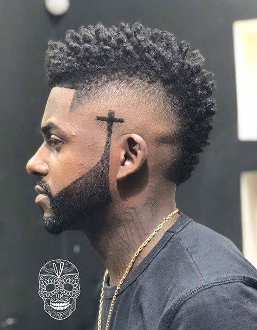 Taper Haircut Black Men Waves 33
